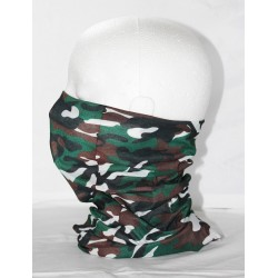 Multi camo neck tube